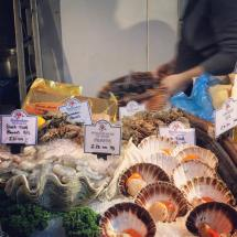 Lovely seafood display