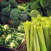 Sumptuous veggies.